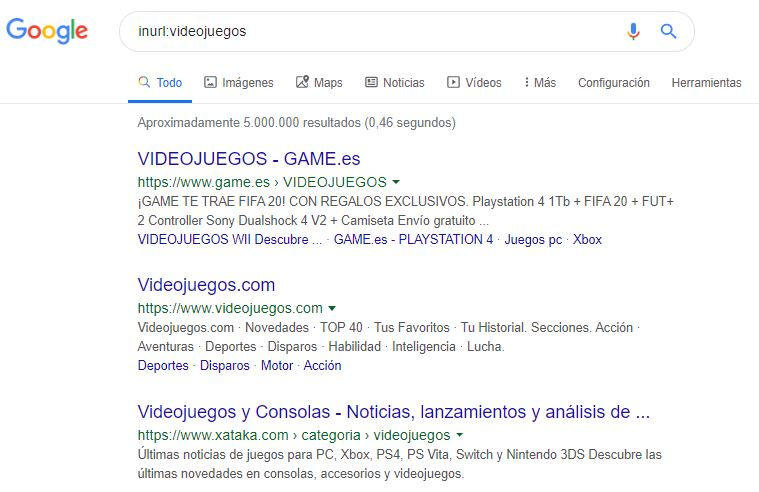 comandos de busqueda en google 4